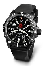 Praetorian Night Patrol Black PVD Military Watch Tritium H3 Illumination GTLS