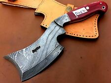 Handmade Pattern Welded Damascus Steel Camping-Outdoor Axe-Functional- DH54