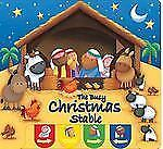 Candle Peek-A-boo: The Busy Christmas Stable by Juliet David (2010, Board Book)