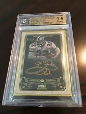 2014 Topps Museum Collection Gold Framed Emmitt Smith 1/10 Autographed