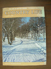 VINTAGE COUNTRY LIFE MAGAZINE JANUARY 6th 1981 STRATHFILLAN PERTHSHIRE