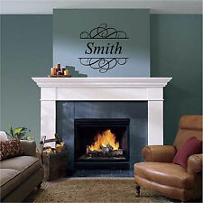 Personalized Family Name Wall Sticker Wall Art Mural Decor Vinyl Decals