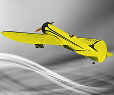 "Model Airplane Full Size Printed Plan & Article 57"".35 Semi scale Gee Bee Stunt"