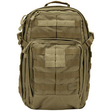 5.11 TACTICAL RUSH 12 MOLLE BACKPACK COMBAT PACK ARMY GO BAG 21L SANDSTONE KHAKI