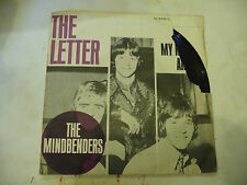 "THE MINDBENDERS""THE LETTER- disco 45 giri 1'Stampa FONTANA Italy1967""VERY RARE"