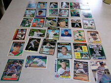 MLB DETROIT TIGERS ASSORTED BASEBALL CARDS 35 CARDS FREEHAN GIBSON TRAMMELL