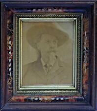 "LARGE 1 of a Kind WILLIAM ""BUFFALO BILL"" CODY ORIGINAL ALBUMEN PHOTO CIRCA 1870s"