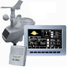 SOLAR WEATHER STATION WITH PROFESSIONAL LED DISPLAY