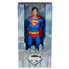 NECA 1/4 scala Christopher Reeves come SUPERMAN ACTION FIGURE Gratis P&P