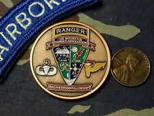 Rare US Mountain Ranger Association membership coin Airborne Pathfinder para