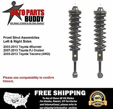 (2) FJ 4Runner Tacoma  Front Complete Struts Lifetime Warranty w/Shipping