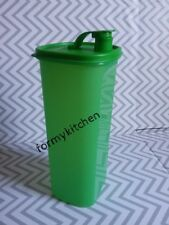 Tupperware Slim Line Pitcher Fridge Bottle Green 2L New!!