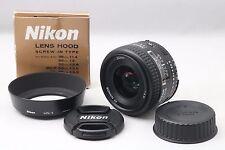 【Excellent++】Nikon AF Nikkor 35mm F2 D Lens with Hood From Japan 127541