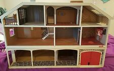 Lundby Stockholm Electric Doll House garage/stable plus all furniture MINT 1978