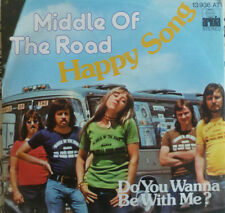 """7"""" 1975 RARE VG+++ ! MIDDLE OF THE ROAD : Happy Song"""