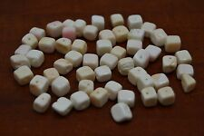 50 PCS PINK CONCH CONCHO SHELL BEADING BEADS #T-2164