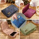 Women Leather Wallet Coin Purse Clutch Wallet Trifold Lady Card Holder Small Bag