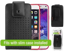 Cellet Teramo Leather Case for Samsung Galaxy Note 3 / 4 / 5 / edge iPhone 6+
