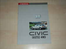 60637) Honda Civic Shuttle 4WD Prospekt 198?