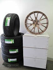 "22"" Jeep Grand Cherokee SRT Wheels Rims Hellcat Style Copper Color with Tires"