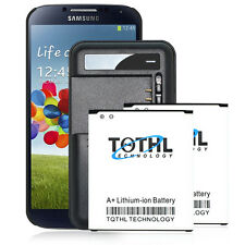2x 4000mAh Extended Slim Battery + Portable Charger For Samsung Galaxy S4 M919
