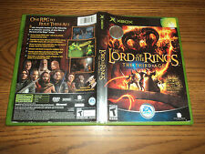 Lord of the Rings: The Third Age Microsoft Xbox or Xbox 360 Game Complete