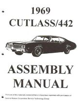 OLDSMOBILE 1969 Assembly Manual 69 Cutlass 442