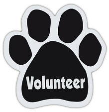 Dog Paw Shaped Magnets: VOLUNTEER | Dogs, Gifts, Cars, Trucks