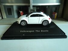 WELLY / ATLAS   VW   THE BEETLE  WHITE w/SUNROOF  1/87  HO  DIE CAST