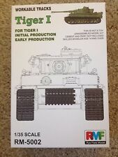 1/35 Workable Tracks for German Tiger I (initial or early prod.) ~ RMF RM#5002