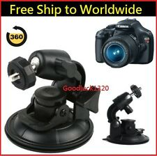 In Car Window Windscreen Suction Cup Mount Tripod Holder 4 DSLR Camera Camcorder