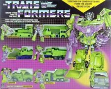 Transformers G1 devastator long haul Scrapper Avenger hot new