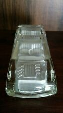 Mercedes 300D Frosted  Glass Crystal Model Automobile Car Paperweight