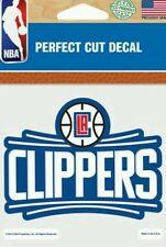 L.A. Los Angeles LA Clippers New Logo 4x4 Perfect Cut Car Decal See Description