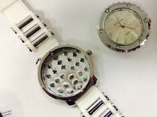 Grinder Watch In White-For Grinding Tobacco Bling-free Extra Battery