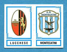 CALCIATORI PANINI 1982-83 Figurina-Sticker n.570-LUCCHESE#MONTECATI-SCUDETTO-New
