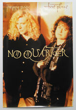 "Robert PLANT and Jimmy PAGE ""No Quarter"" PROMO Poster 20""x30"" Never Hung"