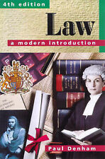 Law: A Modern Introduction 4th Edition,GOOD Book