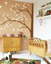 Corner tree wall decal large tree wall decals nursery sticker decor mural 011