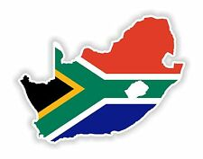 Map Flag of South Africa Sticker Car Truck Laptop Guitar Scooter Book Motorhome