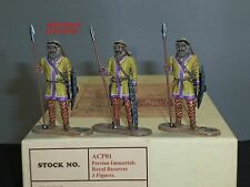 EAST OF INDIA ACP01 PERSIAN IMMORTALS ROYAL RESERVES TOY SOLDIER FIGURE SET