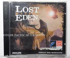 jeu LOST EDEN pour console Philips CD-i aventure fantasy vintage complet TBE
