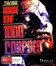House Of 1000 Corpses (Blu-ray, 2016) Rob Zombie Film. Excellent Condition