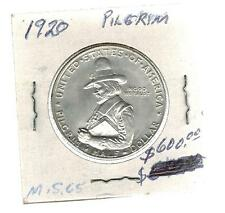 1920 USA Pilgrim Silver 50 cent coin Half Dollar 3