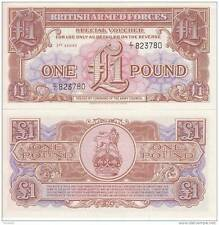 BRITISH ARMED FORCES 1 Pound 1956  FDS UNC