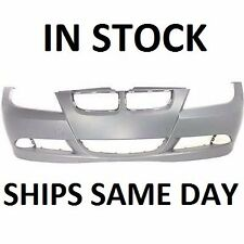 New Primered - Front Bumper Cover For 2006-2008 BMW 325 323 328 330 3 Series