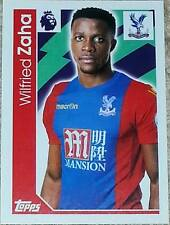 79 Wilfried Zaha CRYSTAL PALACE 2016/2017 Topps Merlin Premier League sticker