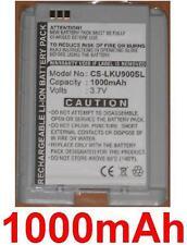 Batterie 1000mAh Pour LG U900