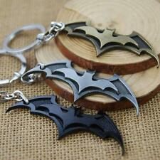 Cool Super Hero Dark Knight Batman Bat Metal Ring Keychain Pendant Key Chain