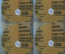 4 X Genuine Original JFJ Easy Pro 3M 1200 GRIT SOFT SANDPAPER CD Repair